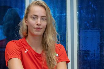 So tickt die längste DSC-Volleyballerin