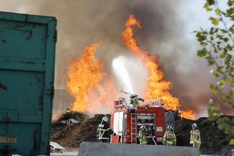 Brand in Mühlau: Hilfe aus Region Döbeln