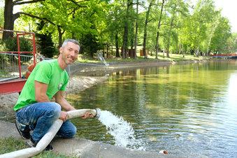 Fünf Millionen Liter Wasser fürs Waldbad