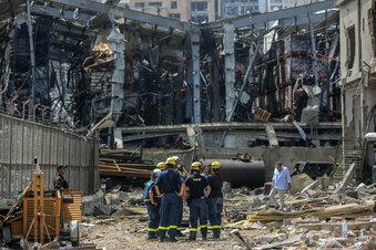 Beirut: Helfer bergen weitere Opfer