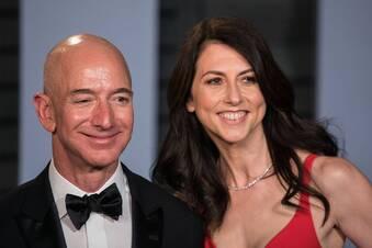 Lukrative Scheidung vom Amazon-Chef