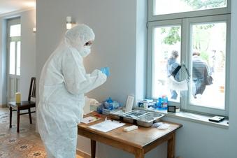 Corona: Weniger als 400 neue Infektionen in Sachsen