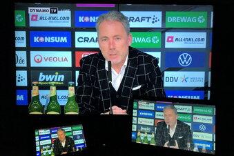 Dynamo präsentiert neuen Geschäftsführer