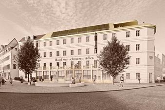 Pirna: Hotel-Pläne für den Schwarzen Adler liegen auf Eis