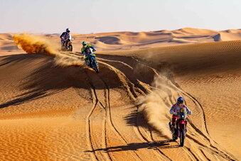 Motorradfahrer stirbt bei der Rallye Dakar