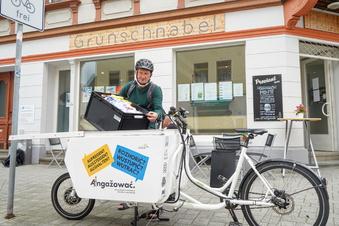 So wird Ware in Bautzen jetzt umweltfreundlich geliefert