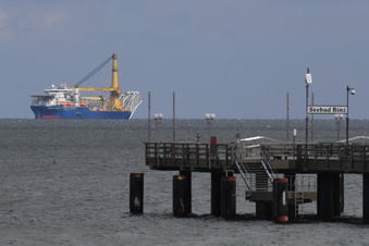 Nord Stream 2: Zweites Schiff verlegt Rohre