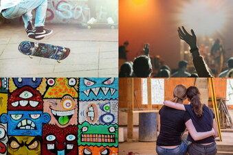Junge Leute sammeln ihre Ideen digital