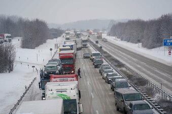 Bautzen: So hat der Winter den Verkehr im Griff