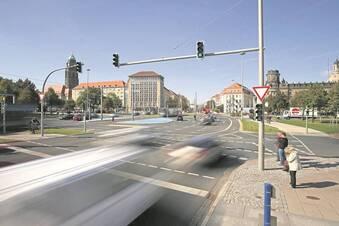Schnellere Fahrt über Dresdens Kreuzungen