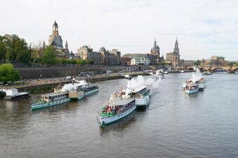 Dampferwächter schützen Dresdens Schiffe