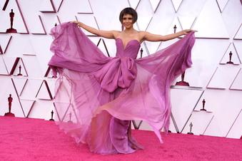 Glamour bei den Oscars - trotz Corona