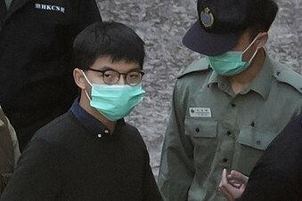 Hongkong-Aktivist Wong verurteilt