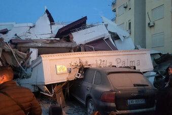 Starkes Erdbeben in Albanien