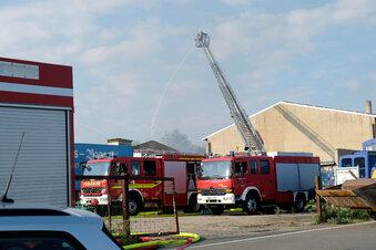 Brand in früherem Stall nahe Taubenheim