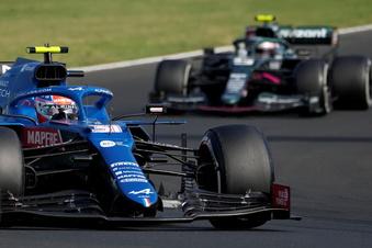 Verrücktes Formel-1-Rennen in Ungarn