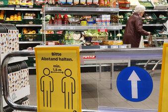 Hygiene-Rüpel im Netto Bernstadt