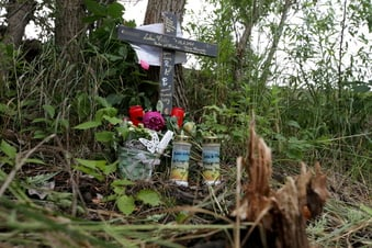 Toter in Dresdner Kiessee: Freunde helfen der Familie