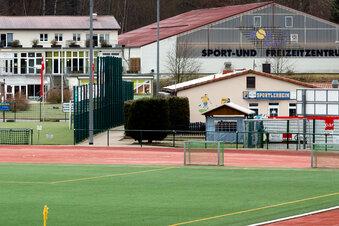 Covid-19-Fall in Sebnitzer Sportzentrum