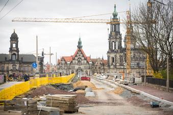 Augustusbrücke Dresden: Die ewige Baustelle?