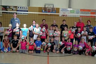 Kinder hatten Freude beim Volleyballcamp