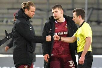 Dynamos Kapitän für drei Spiele gesperrt