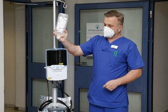 Mehr Sauerstoff für Corona-Patienten