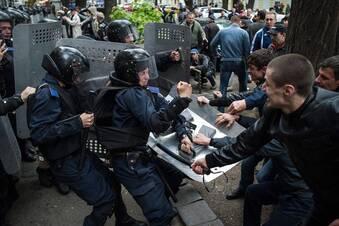 Straßenschlachten in Odessa