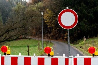 Wichtige Straße ins Sebnitztal bleibt zu