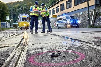 Schwerer Unfall mit Kirnitzschtalbahn