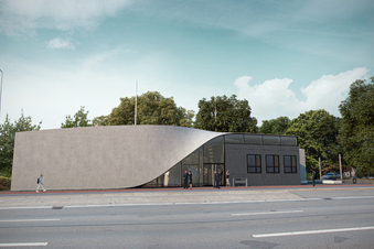 Dresden bekommt Haus aus Super-Beton