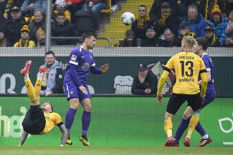 Dynamo-Stürmer erzielt das Tor des Monats