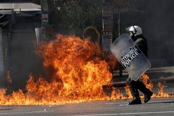 Streiks und Gewalt in Griechenland