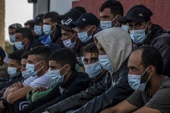 Migrationskrise: Kanaren errichten Notlager