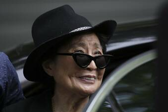 Yoko Ono will nach Leipzig kommen