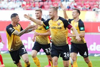 Dynamo feiert Traumstart mit 1:0-Sieg in Kaiserslautern