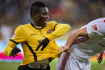 Dynamos Koné ist verletzt