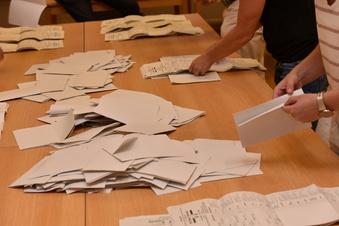 Glashütte: Wahlergebnis mit kleiner Korrektur