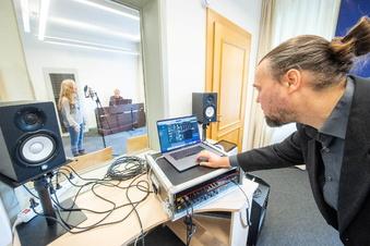 Pirna: Wie die Musikschule jetzt fette Sounds kreiert