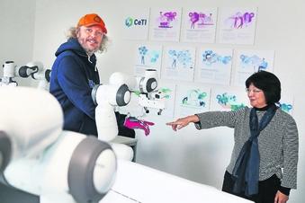 Roboter lernen das Streicheln