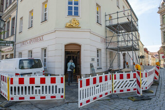 Großenhainer Löwen-Apotheke wird saniert