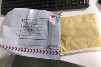 Anti-Terror-Ermittlungen zu Briefbombenfunden in London