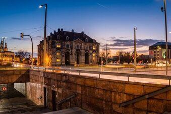 Tunnelabriss in Dresden soll gestoppt werden