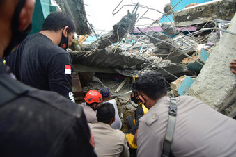 35 Tote bei Erdbeben in Indonesien