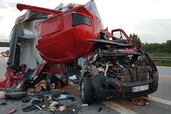 Schwerer Unfall auf der A 4