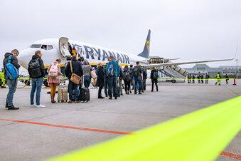 Was Ryanair in Dresden vorhat
