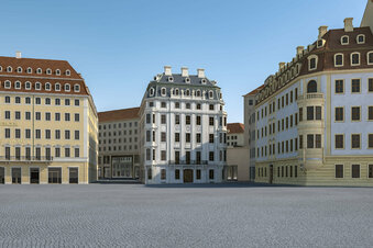 Verhindern Eichen das Hotel Stadt Rom in Dresden?