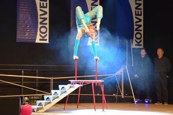 Akrobatikstars auf der Konventa