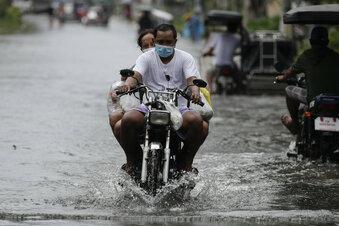 Taifun erreicht Südostasien