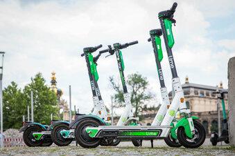 Wie geht es mit Dresdens E-Rollern weiter?